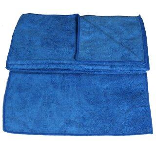 Mikrofasertücher 30x30 blau - 10 Stück