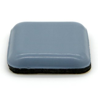 Teflongleiter quadratisch, selbstklebend 30 x 30 mm, Stärke 5 mm