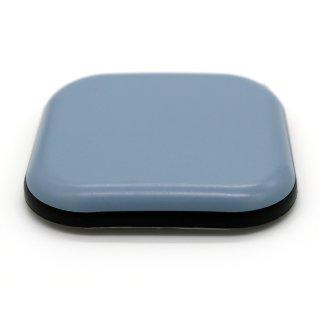 Teflongleiter quadratisch, selbstklebend 45 x 45 mm, Stärke 5 mm