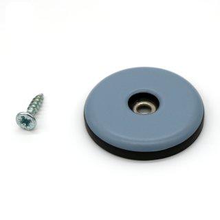 Teflongleiter rund mit Schraube Ø 38 mm, Stärke 5 mm
