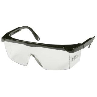 Schutzbrille mit verstellbaren Bügeln